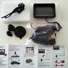 4,599円のバックカメラ&モニターセットを取り付けた3連休