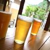 奥多摩観光の後はビールで乾杯