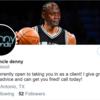 Spurs|(カワイ・レナードの)デニスおじさん、Twitterのビジネス・アカウントを突き止められ、Spursファンの苦情殺到、ついには乗っ取られる