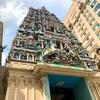 【マレーシア】クアラルンプールのスリ・マハ・マリアマン寺院とその付近の美味しいチキンライス