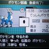 ポケモンBW 色固定乱数-コバルオン編-