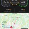 先週の活動 - 通常走13km×2、LSD3時間、起伏走20km
