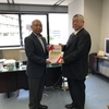 「がんサロンネットワーク熊本」の皆様から、手記集を贈呈いいただきました。