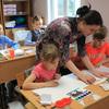 北方領土(千島列島)に住んでいる子供たちがロシアの自然を描きました。
