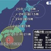 台風20号の進路と規模!大雨と高潮に注意!!