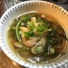 日々の食生活日記_09_水菜と油揚げの煮浸し