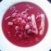 真っ赤っ赤のスープ