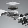 BlenderでAzure Kinectのモデルを作る その⑥ RGBカメラ部