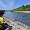 旭川市、石狩川でニジマス釣り!すぐ近くでヒグマ出没!