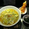 Noodle and BAR SANCHA FUKAMI
