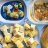 離乳食 後期 128日目 野菜入り卵焼き