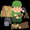 作業用BGMとしてブッシュクラフトやキャンプ動画を流しています