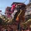 ナコンサワン(นครสวรรค์)の春節・中国正月の龍舞は圧巻でした!!其の参(1/28日中パレード編)