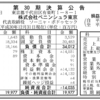 株式会社ペニンシュラ東京 第30期決算公告