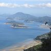すばらしい海岸「仁尾」蔦島を見渡す