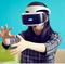 真山さん、VR体験