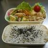 隠れノリ弁と豆腐ハンバーグ