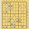 将棋ウォーズ初段の将棋日記 居飛車(筋違い角) VS 中飛車