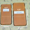 「iPhone 6S」とラベルの付いた5.5インチiPhoneのモックアップとケース〜まさにiPhone Airな大きさ