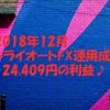 トライオートFX運用成績発表【2018年12月】
