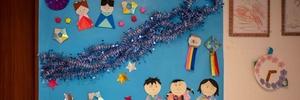3歳児と七夕の飾り