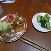 幸運な病のレシピ( 504 )朝:ししゃも・ロース薄切り・鳥カツ、塩鯖、トマト、キャベツ