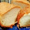 手作りのパンとあんこと白玉団子。