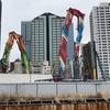 「西新宿五丁目北地区再開発」解体、青梅通り沿いも始まる