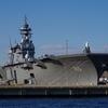『安針台公園』から、横須賀の海軍施設はあんまり見えなかった。