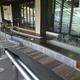 【常磐線 湯本駅】駅のホームに足湯があります。 @福島県いわき市