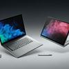 Microsoft、第8世代Intelプロセッサを搭載した13.5インチ/15.5インチノート「Surface Book 2」を正式発表。