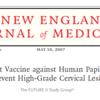 高悪性度子宮頸部病変を予防するための4価HPVワクチンの効果