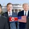 爆笑米韓首脳会談