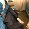 【仕事納めの電車】