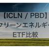 【ICLN/PBD】クリーンエネルギーETF比較