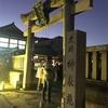 9月14日 満月を神泉苑で楽しんできた