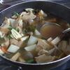 幸運な病のレシピ( 505 )昼:塩鯖、豚キムチソテー、煮しめ