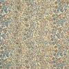 着物生地(158)よろけ縞に花鳥模様小紋