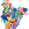 【新作】レゴ ドッツ (LEGO DOTS) DOTS パーツ2 - 絵文字&グリッター 41916 基本情報