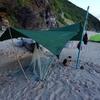 今年の夏のキャンプシーン