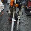 #バイク屋の日常 #ホンダ #FTR223 #フロントフォーク #シール #インナーチューブ