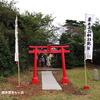 五社神社 ~鳥居の再建~
