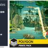 【独自セール】POLYGON - Pirates Pack シンプルシリーズの作者さんの新作「パイレーツ」中世の海と船を舞台にした豪華素材パッケージ