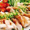鶏胸肉で辛くないよだれ鶏【BONIQ Proで低温調理】(動画レシピ)/Steamed chicken  breast with leek sauce.