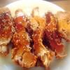 チキン照り焼き、豚肉野菜、玉子焼き