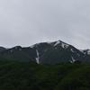 【越後駒ヶ岳日帰り登山】大蛇のような尾根道を行く先にある頂