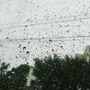 3週連続の雨