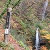 ◆11/12         晩秋の温海嶽へ④…三ノ滝~いったん車道へ