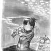 課題で描いた絵~季節の風景~ (アナログ3枚)