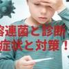 溶連菌と診断!2歳の息子の症状と経過